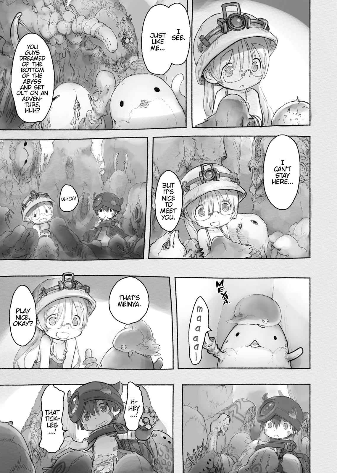Made in Abyss Chapter 40 Page 25