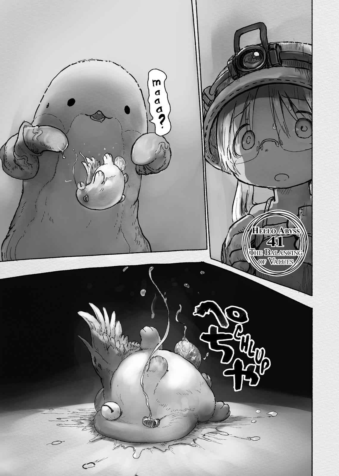 Made in Abyss Chapter 41 Page 1