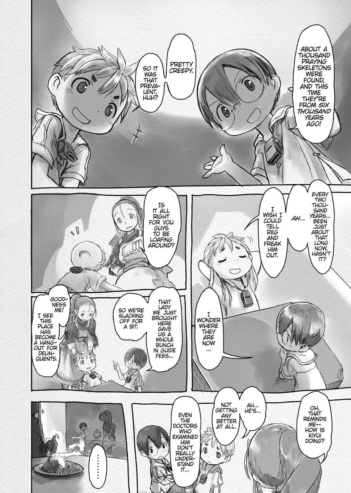 Made in Abyss Chapter 42.5 Page 3