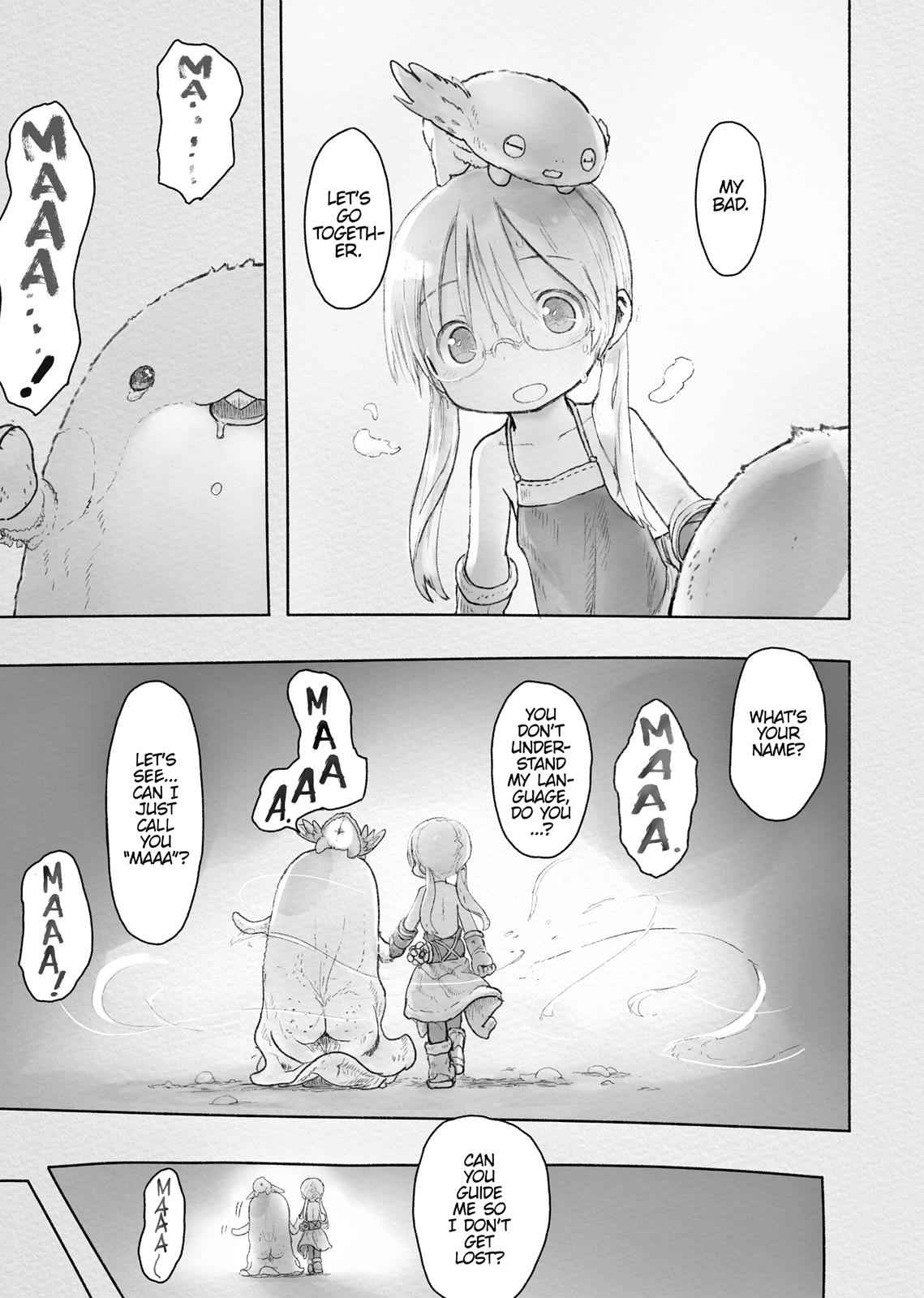 Made in Abyss Chapter 43 Page 23