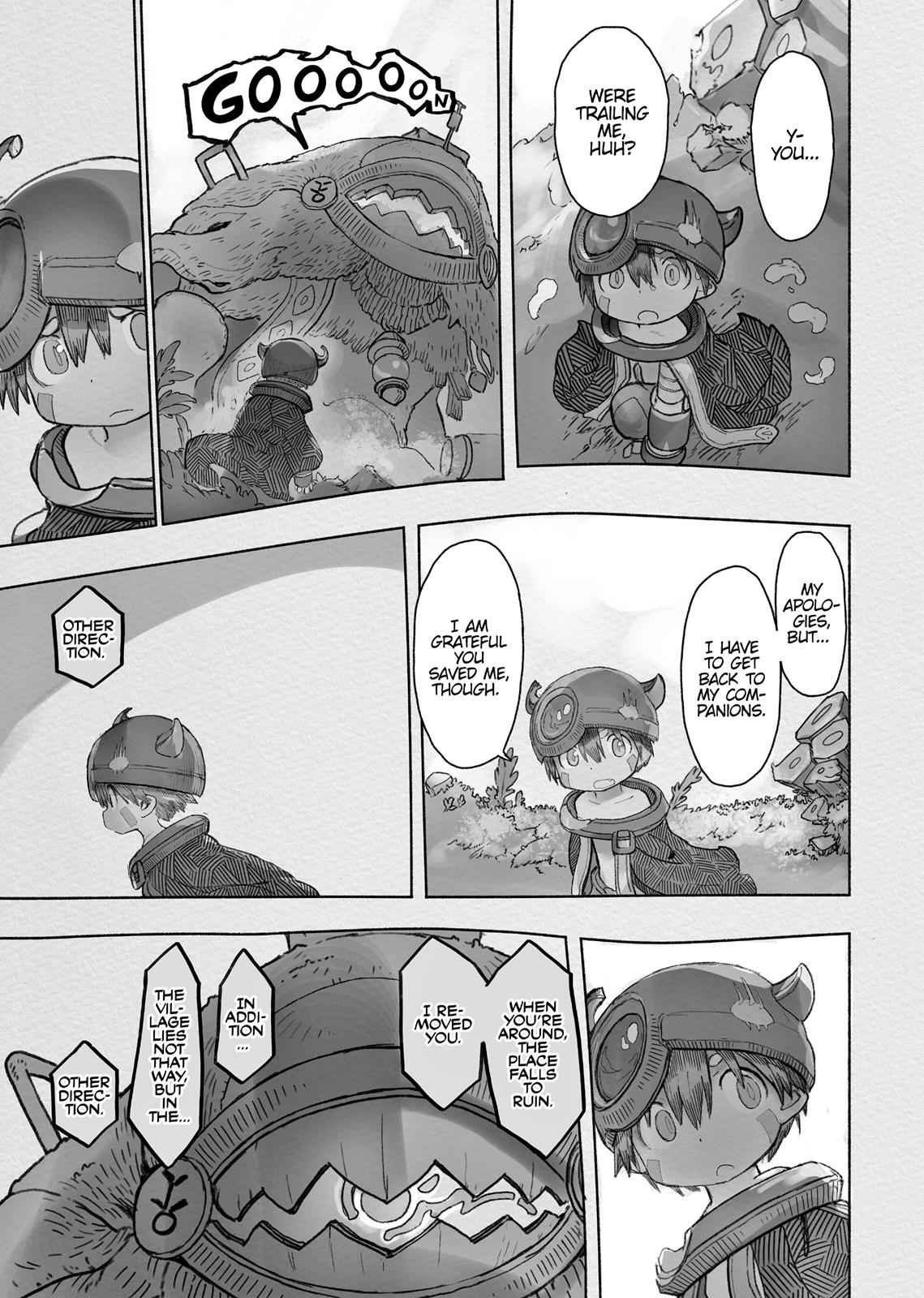 Made in Abyss Chapter 43 Page 31