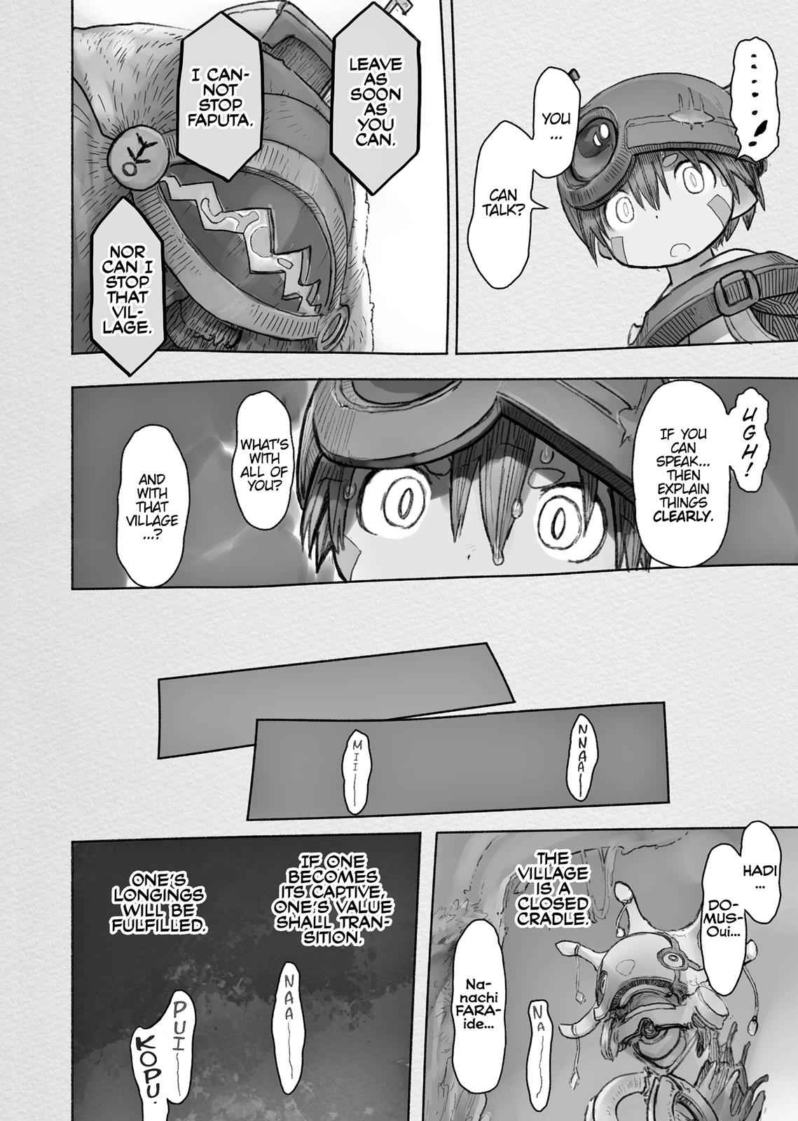 Made in Abyss Chapter 43 Page 32