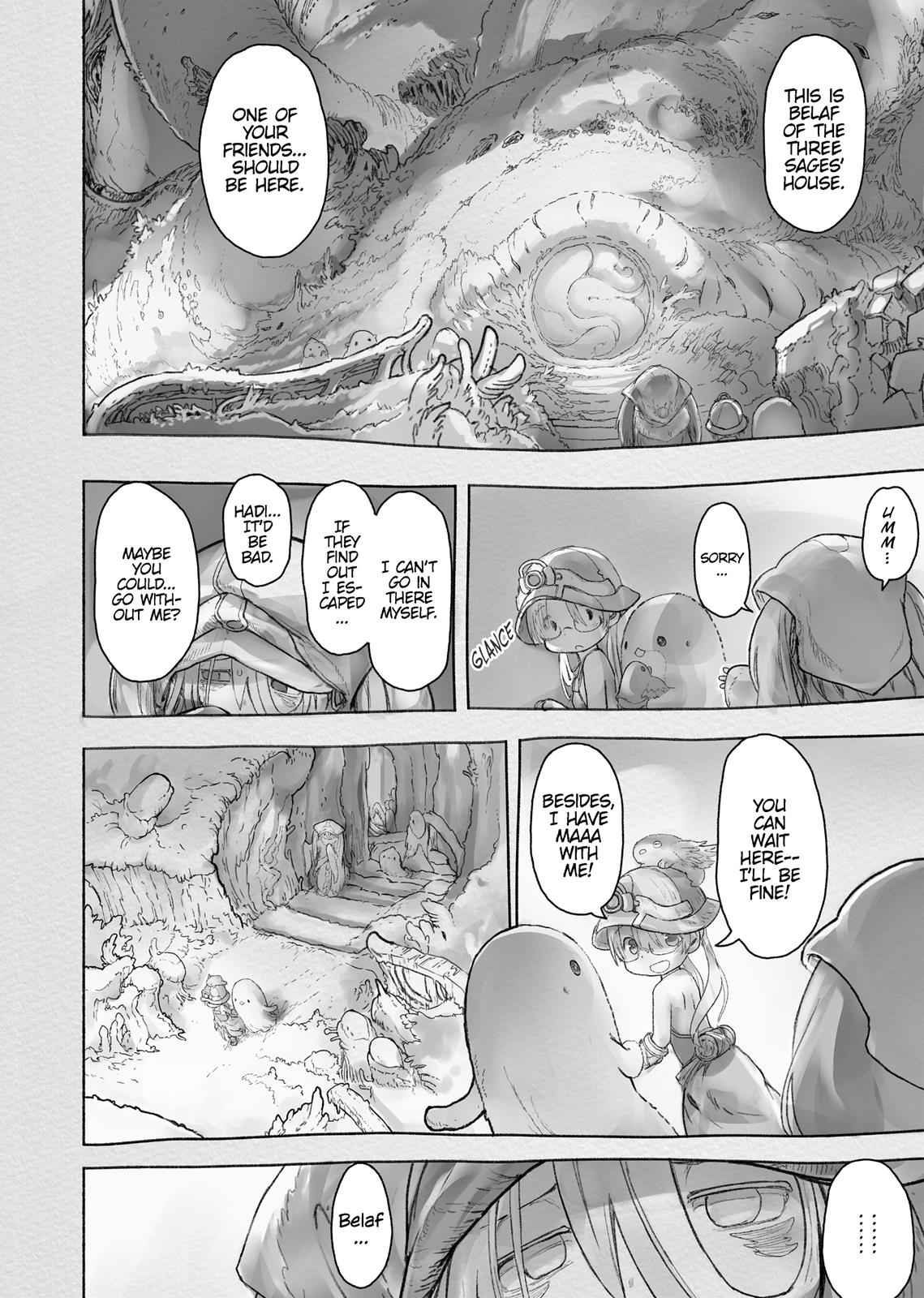 Made in Abyss Chapter 45 Page 12