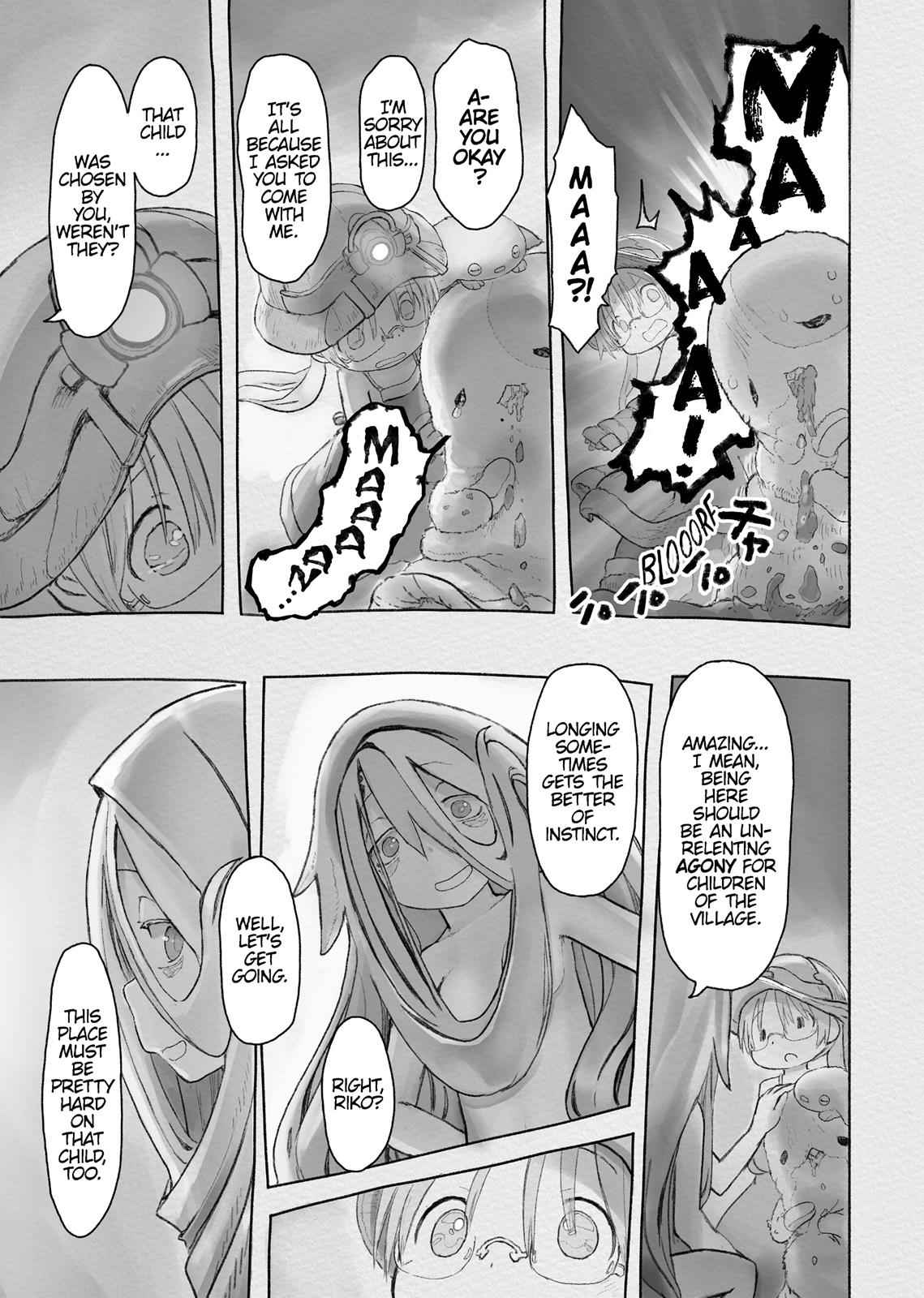 Made in Abyss Chapter 45 Page 9