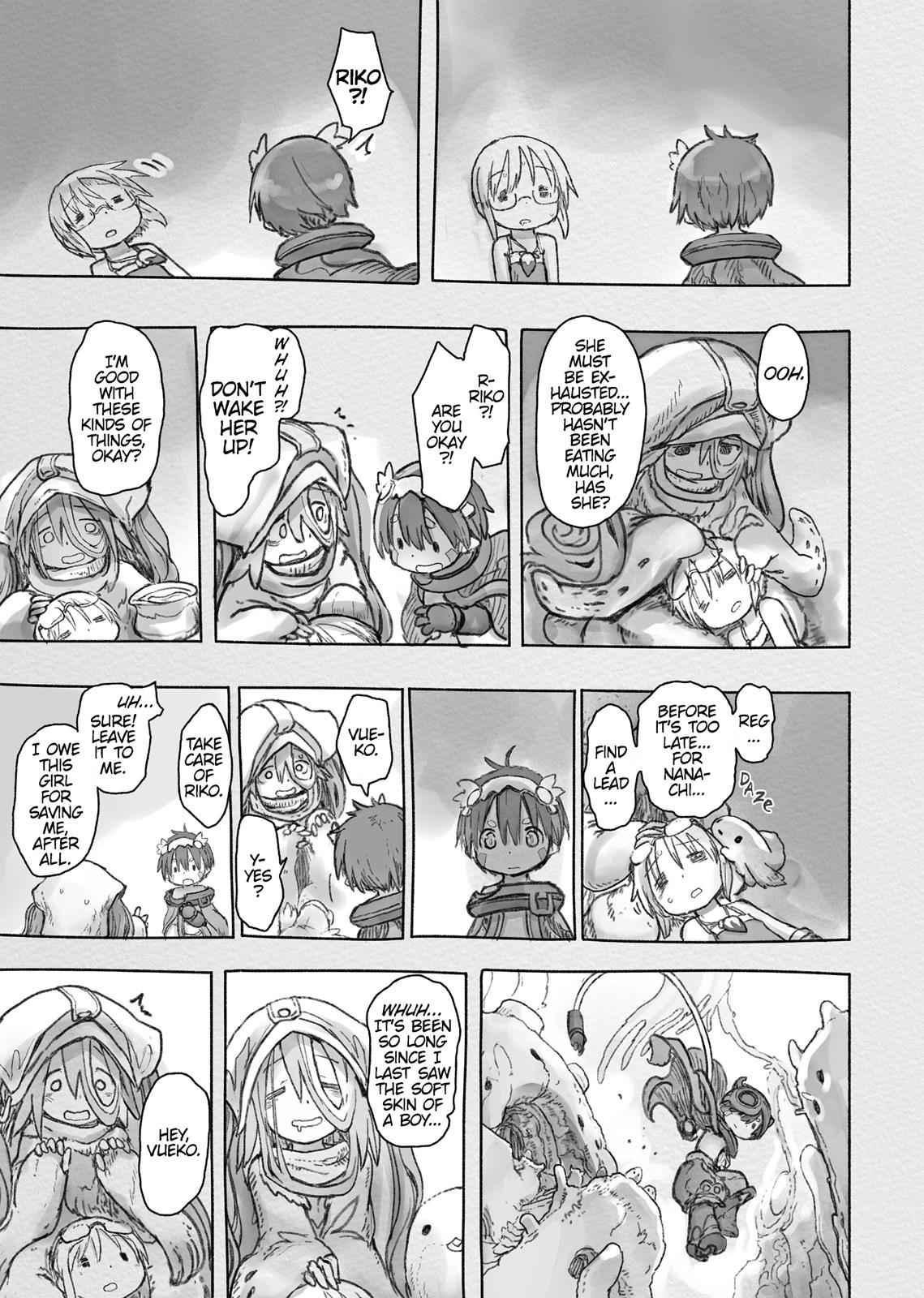 Made in Abyss Chapter 47 Page 9