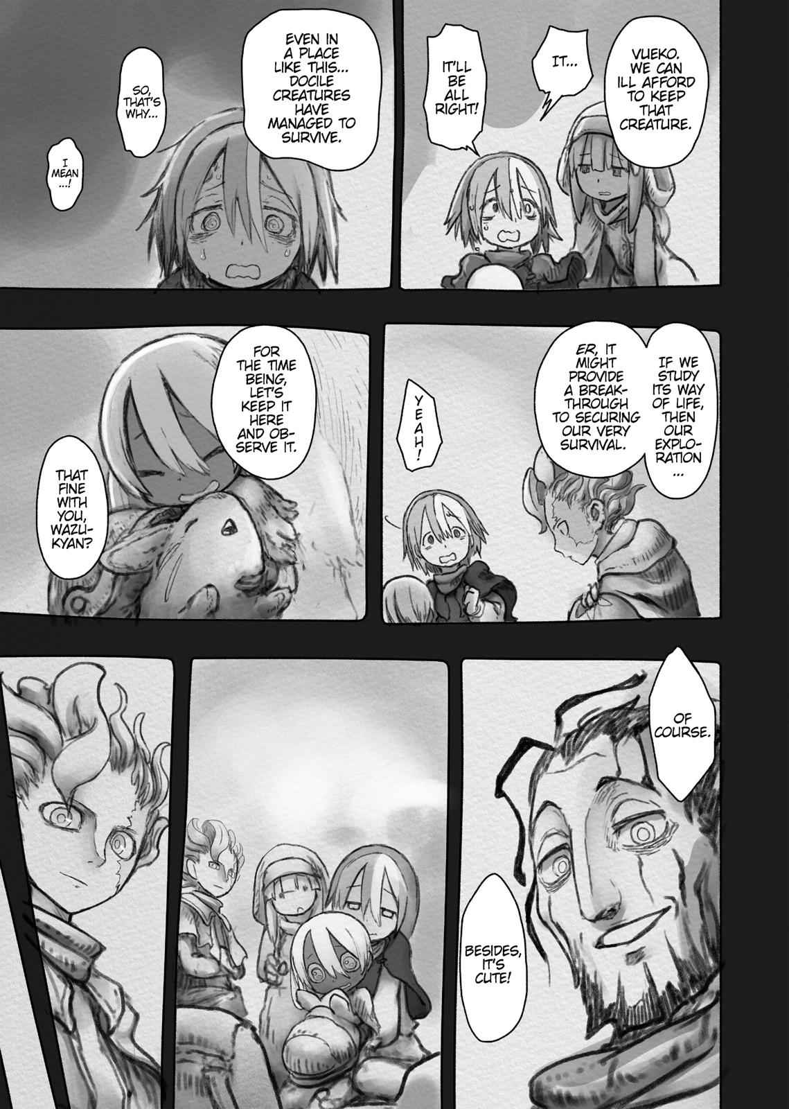 Made in Abyss Chapter 49 Page 15