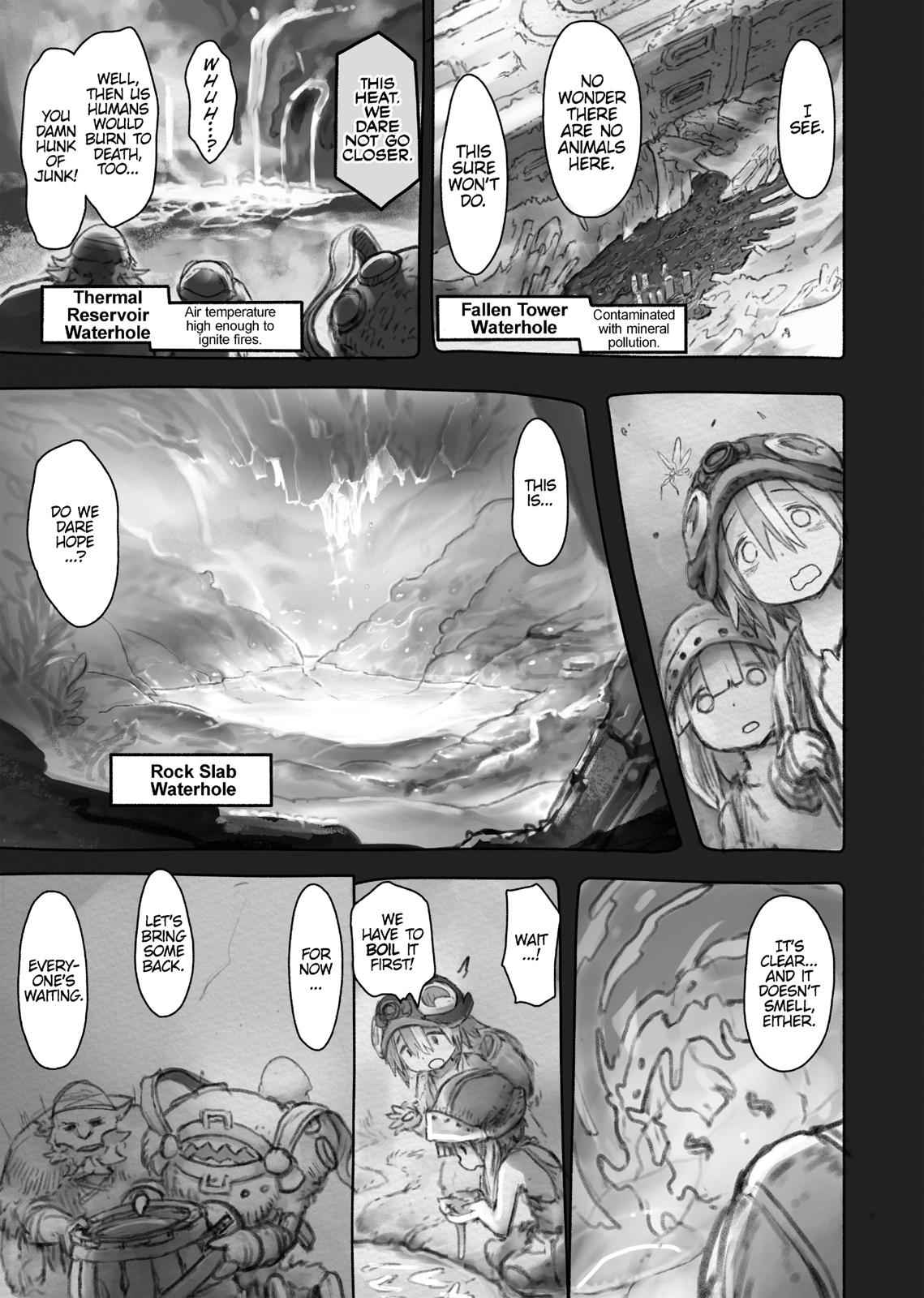 Made in Abyss Chapter 49 Page 17