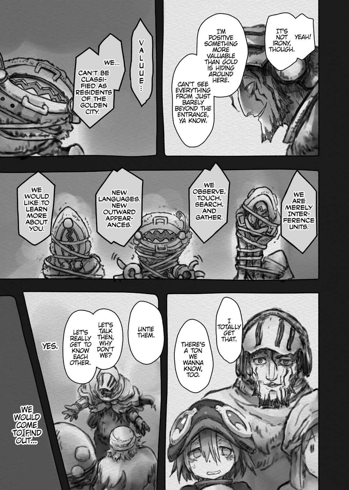 Made in Abyss Chapter 49 Page 9