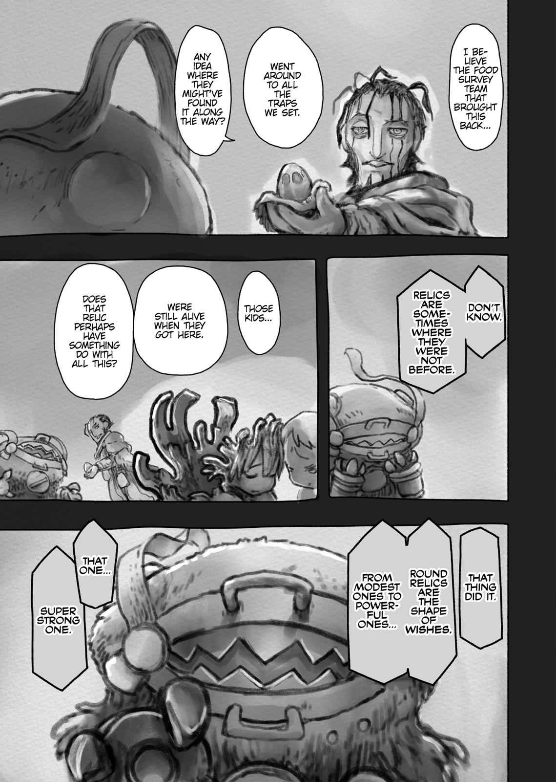 Made in Abyss Chapter 50 Page 3
