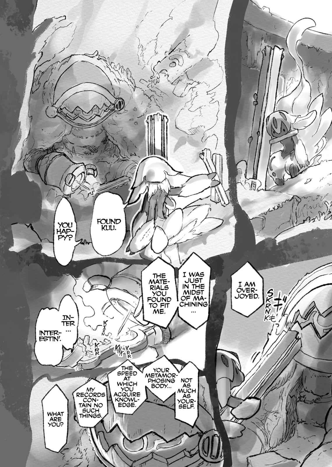 Made in Abyss Chapter 51.5 Page 8