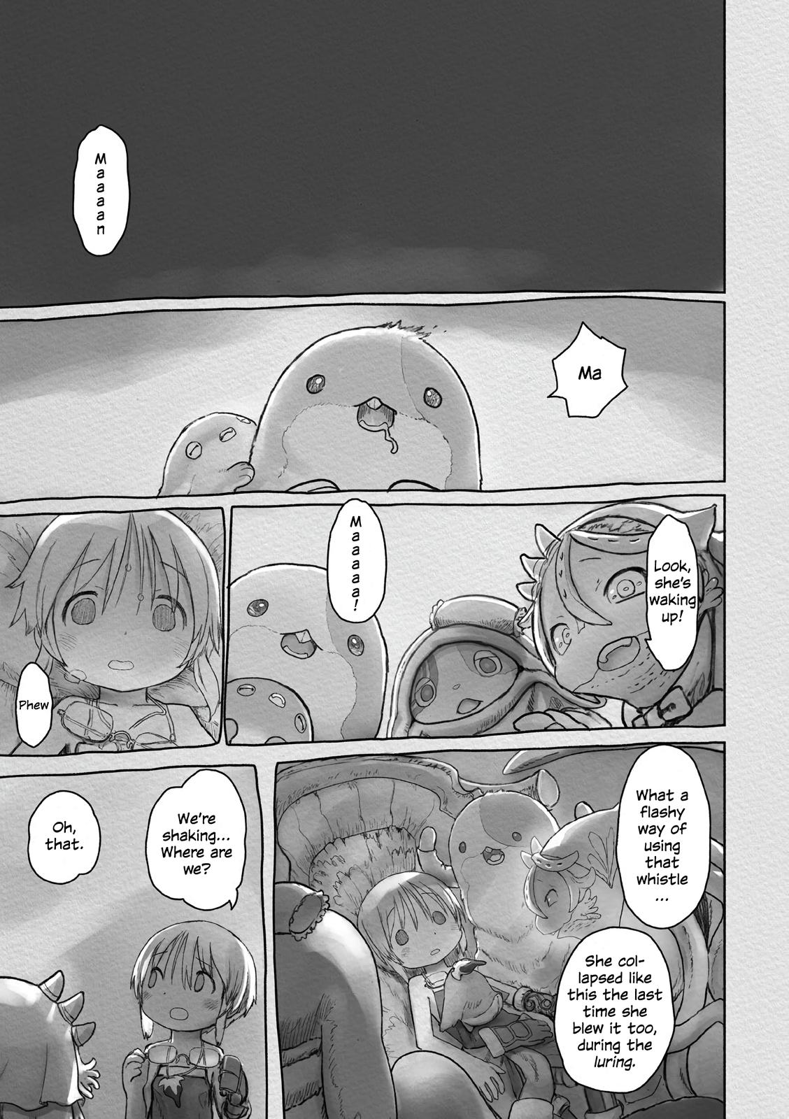 Made in Abyss Chapter 58 Page 12