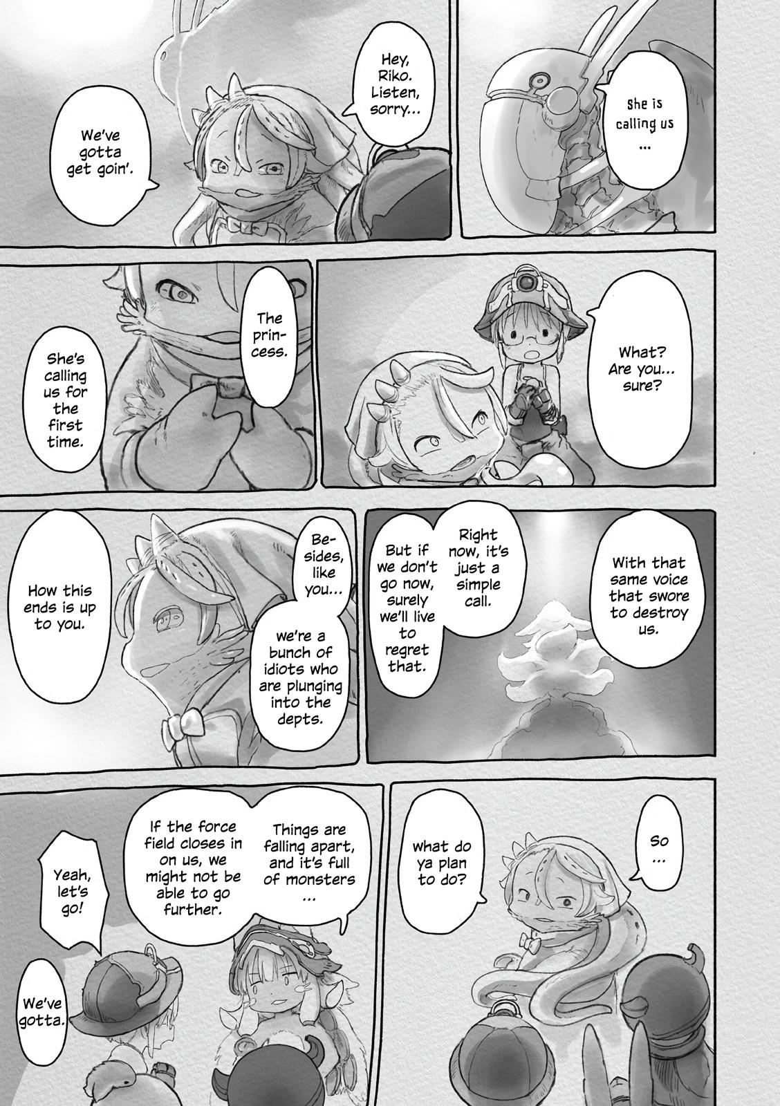Made in Abyss Chapter 58 Page 22