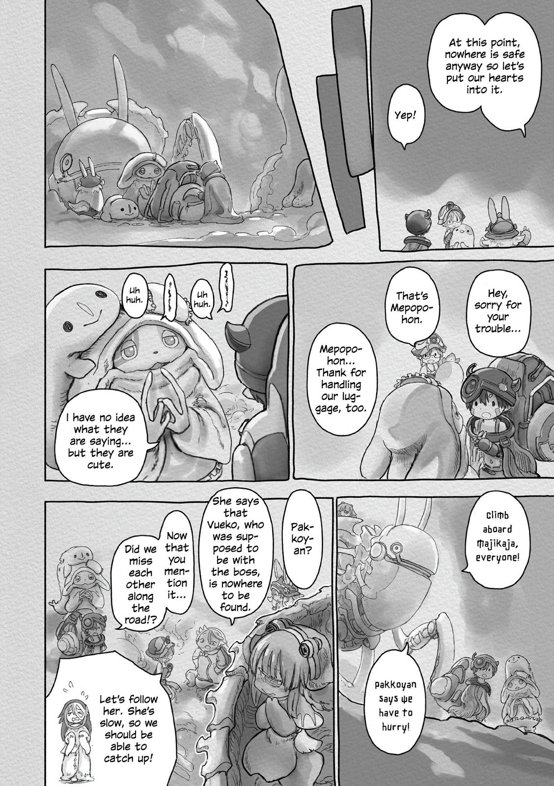 Made in Abyss Chapter 58 Page 23