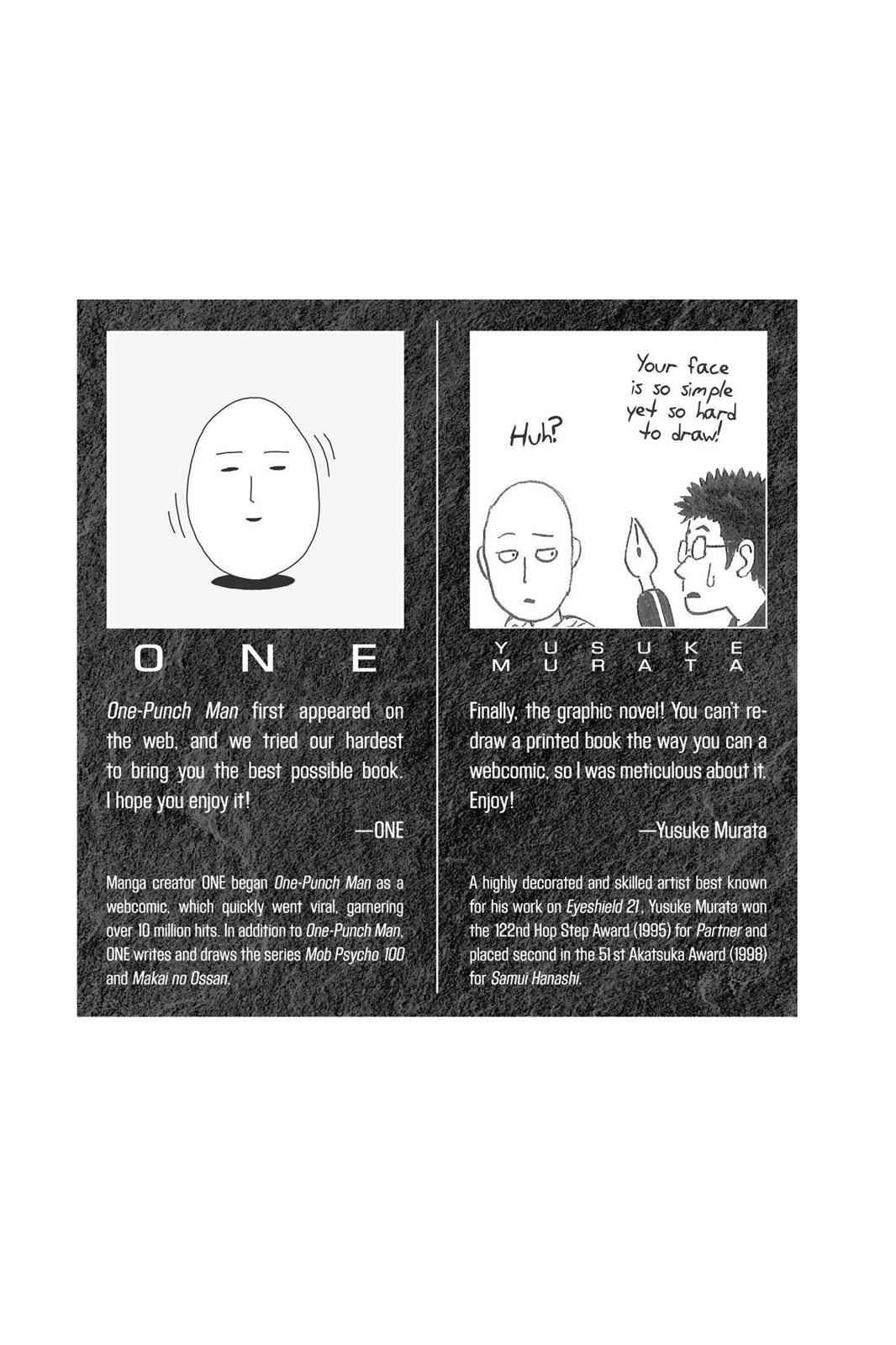 One-Punch Man Chapter 1 Page 3