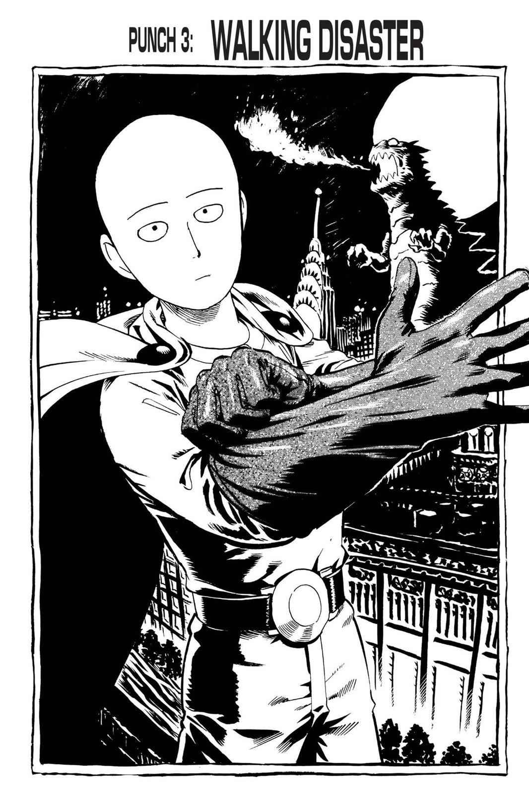 One-Punch Man Chapter 3 Page 1