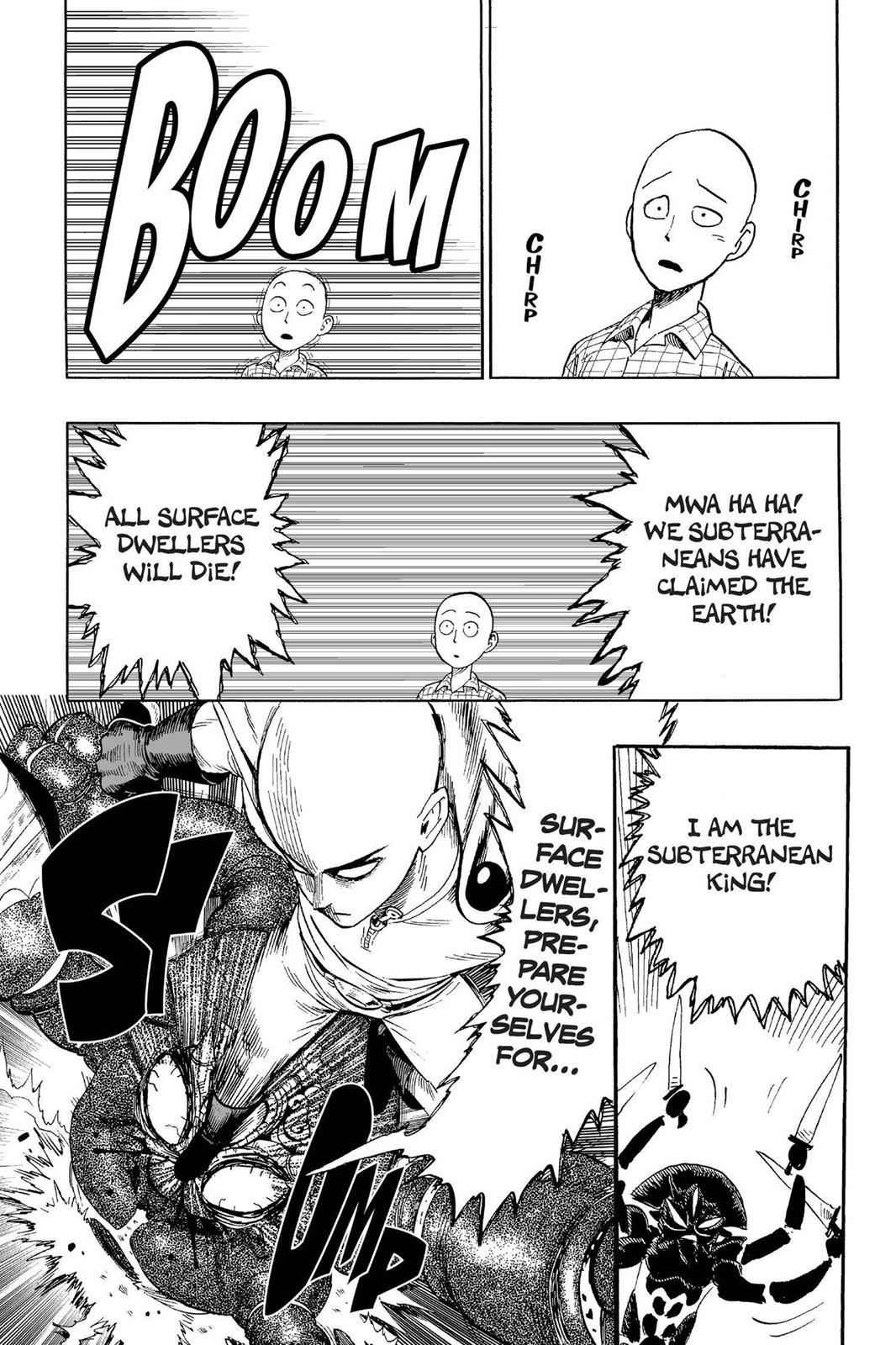 One-Punch Man Chapter 4 Page 23