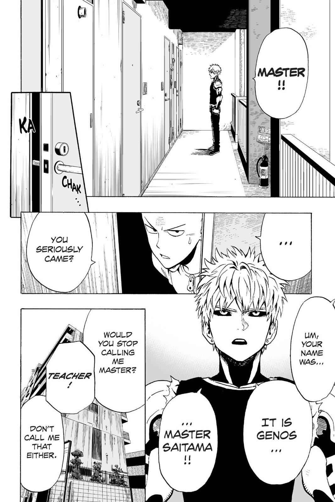 One-Punch Man Chapter 7 Page 2
