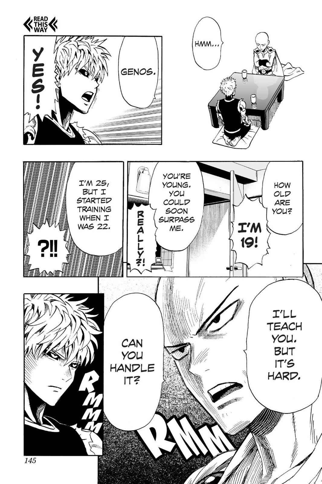 One-Punch Man Chapter 7 Page 9