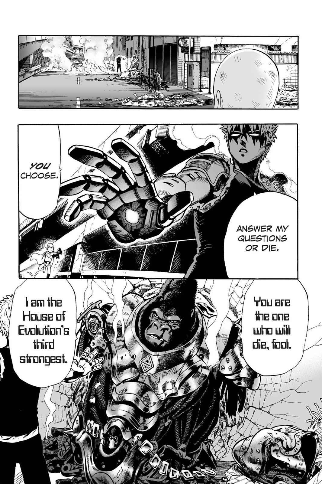 One-Punch Man Chapter 8 Page 22
