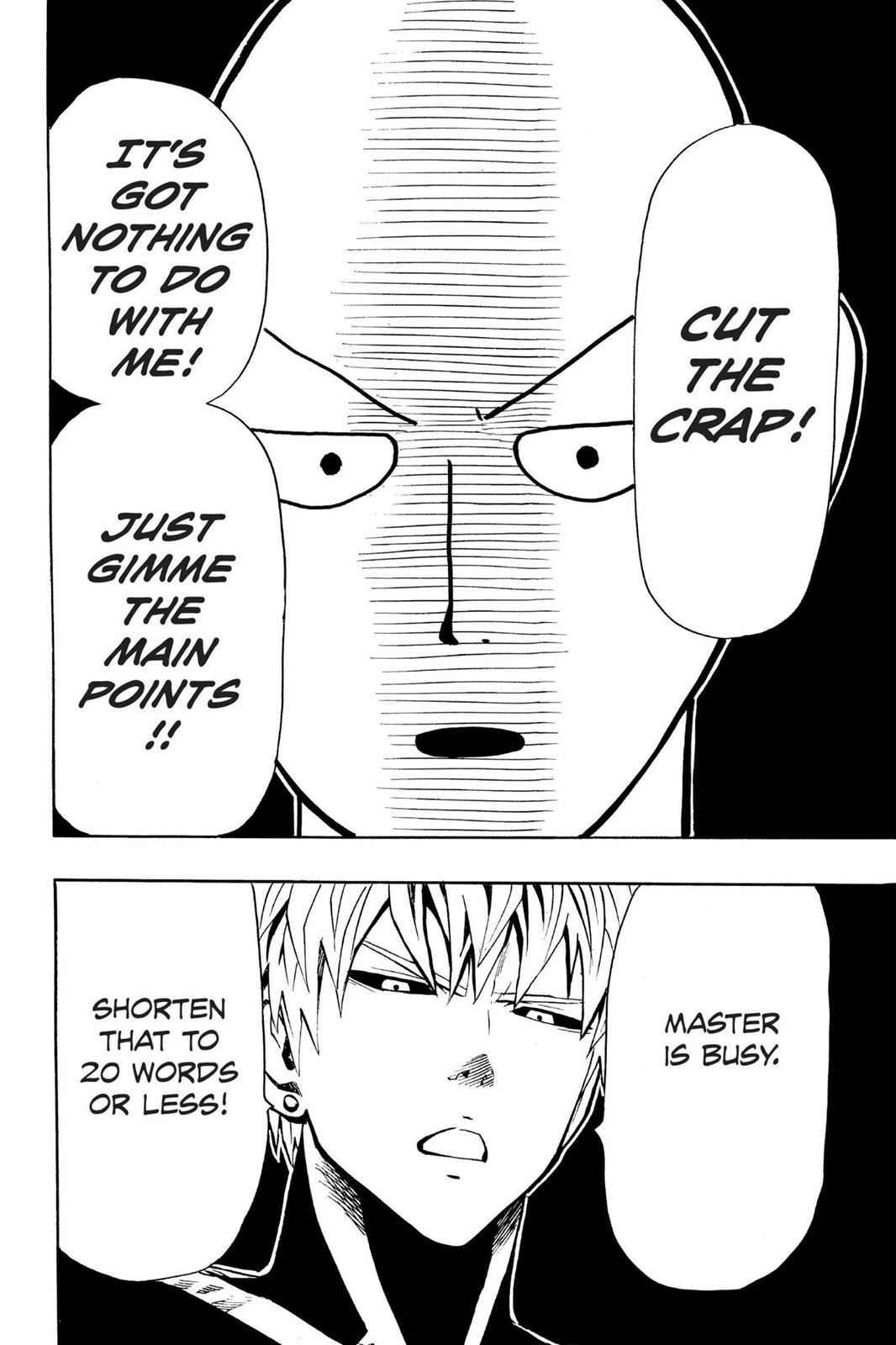 One-Punch Man Chapter 9 Page 13