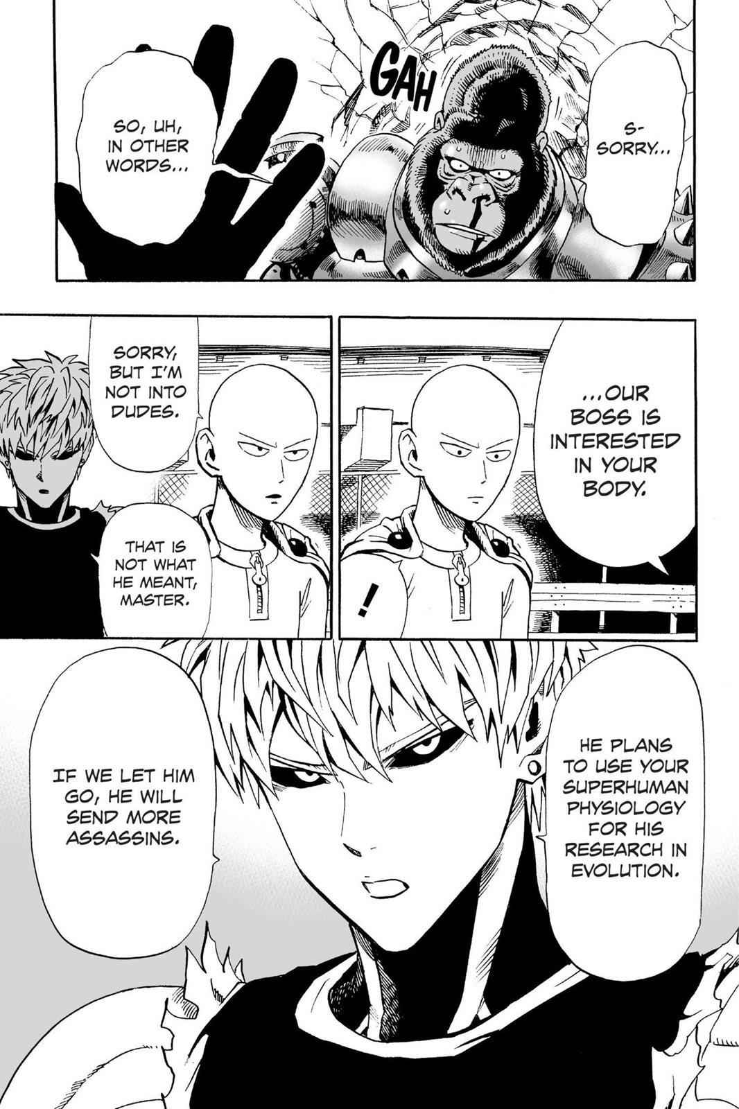 One-Punch Man Chapter 9 Page 14