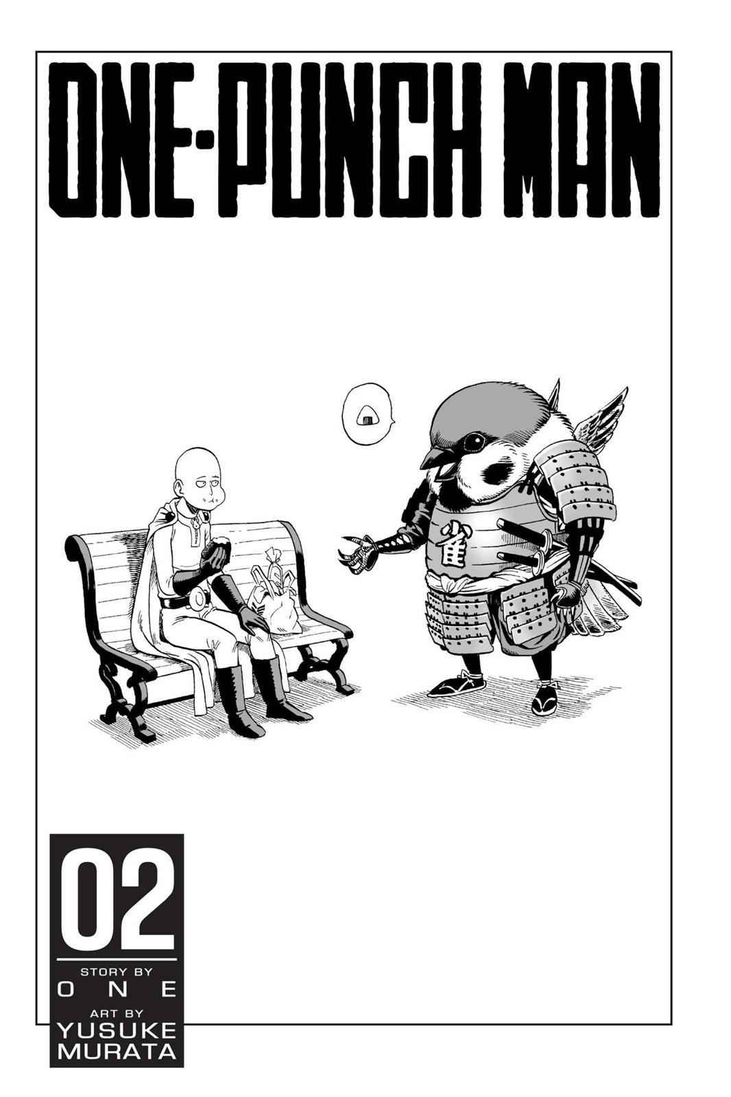 One-Punch Man Chapter 9 Page 4