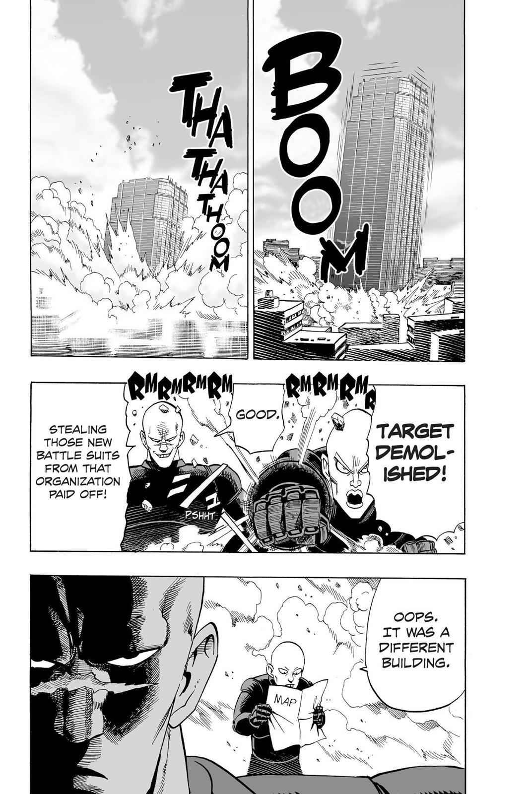 One-Punch Man Chapter 12 Page 8
