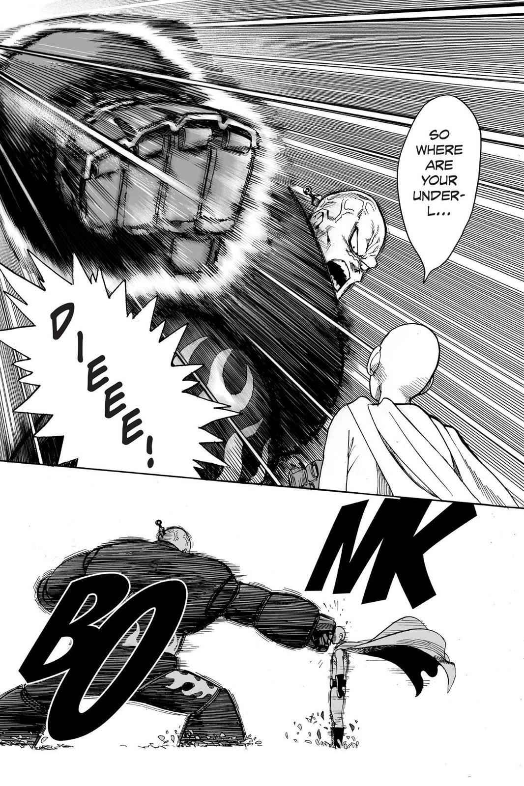 One-Punch Man Chapter 14 Page 4