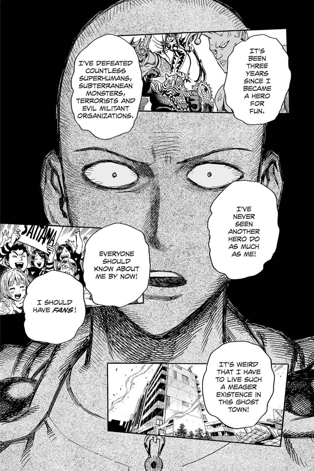 One-Punch Man Chapter 15 Page 12