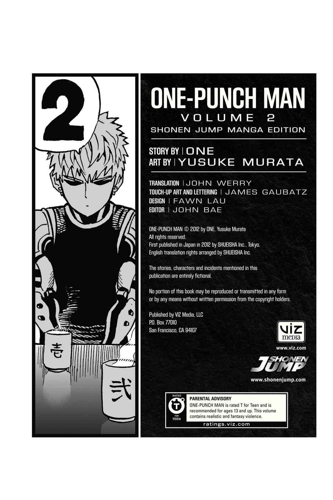 One-Punch Man Chapter 15.5 Page 17