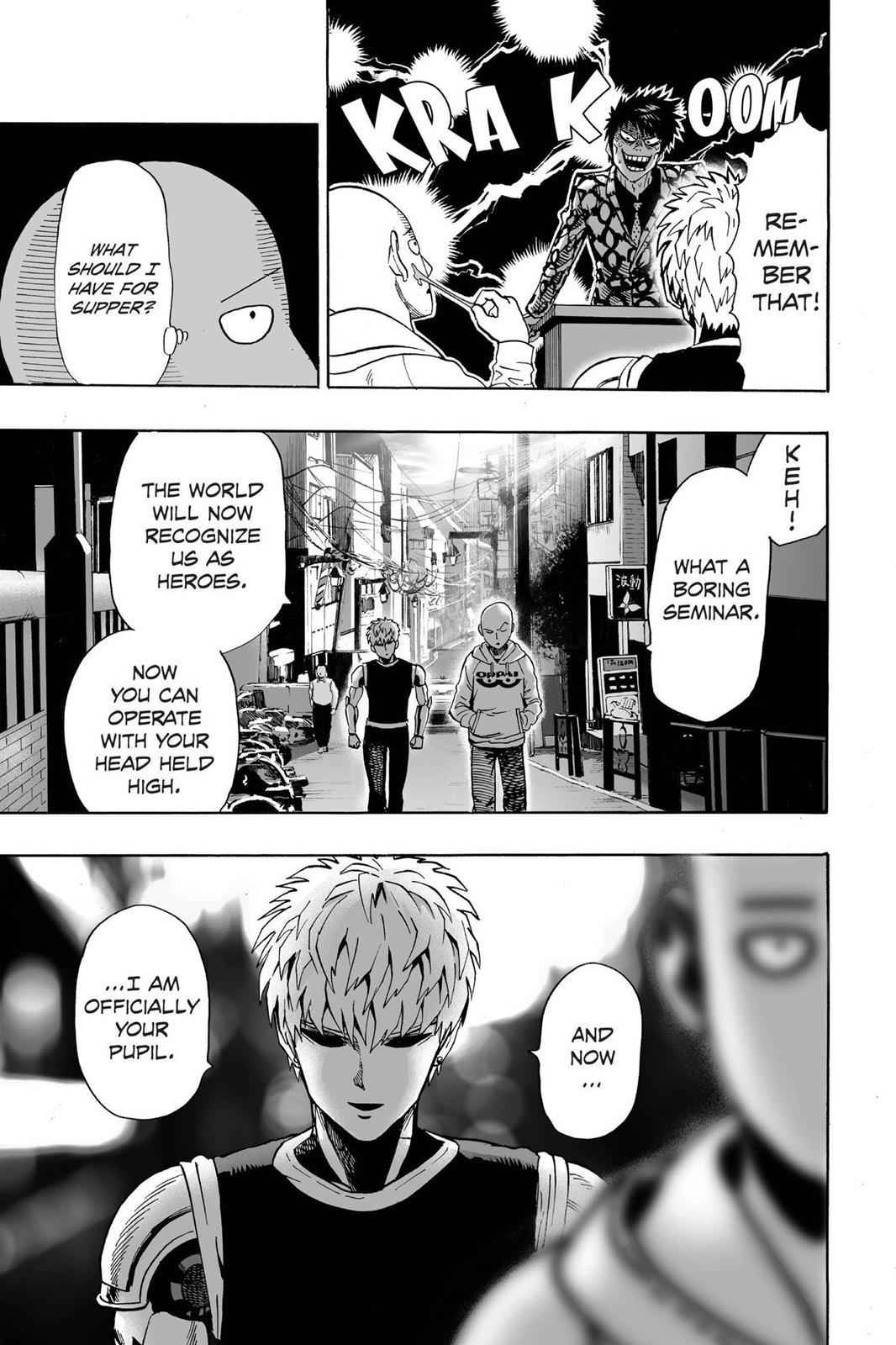 One-Punch Man Chapter 16 Page 21