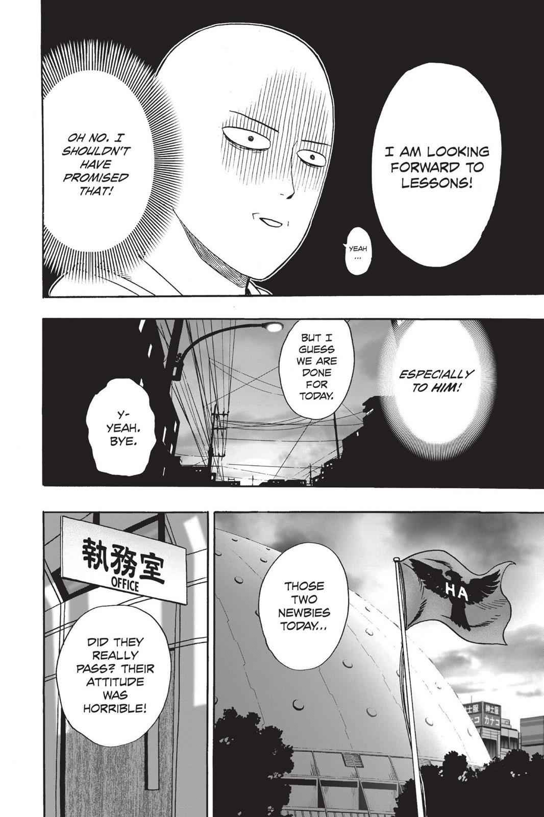 One-Punch Man Chapter 16 Page 22