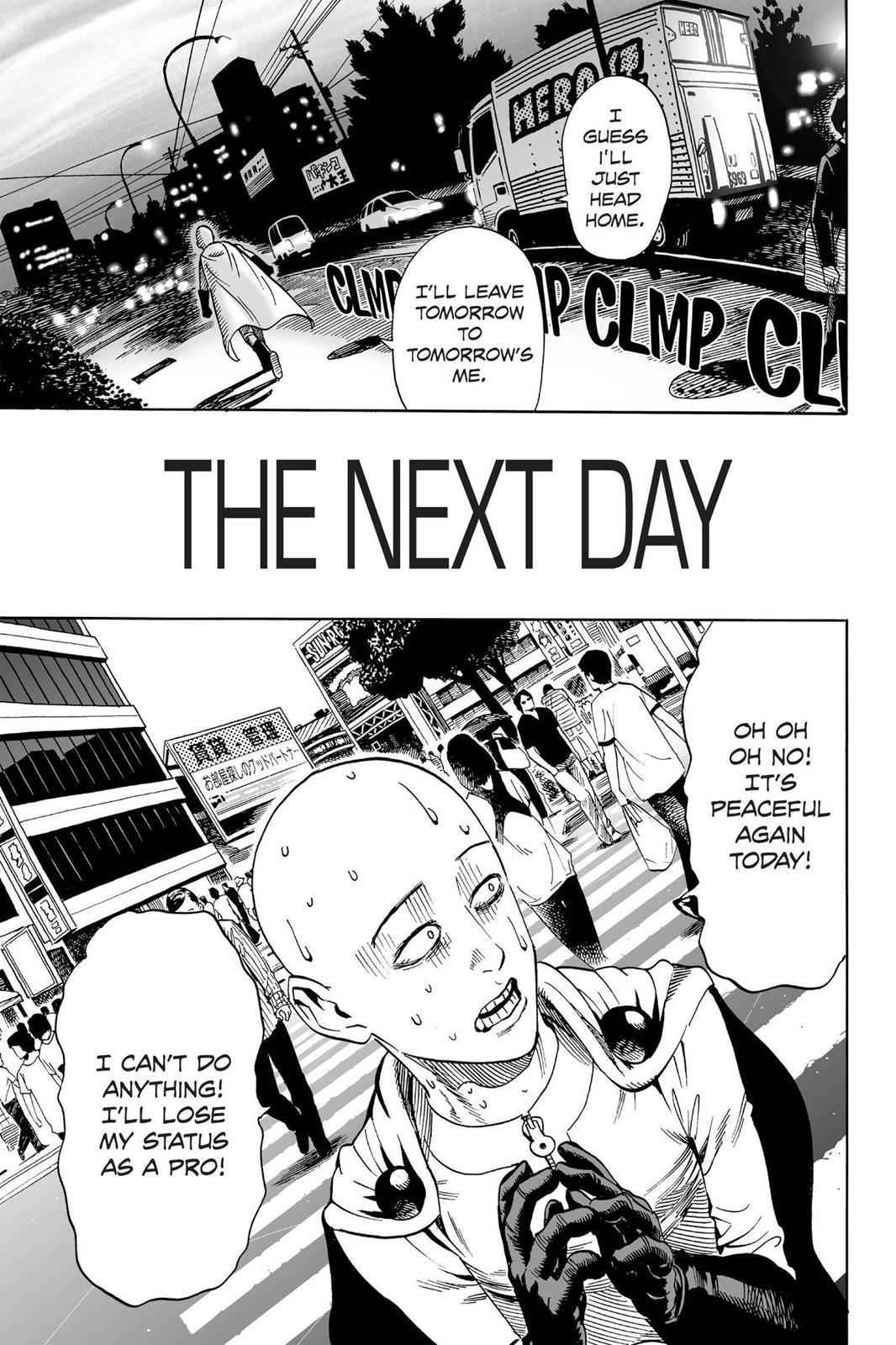 One-Punch Man Chapter 18 Page 19