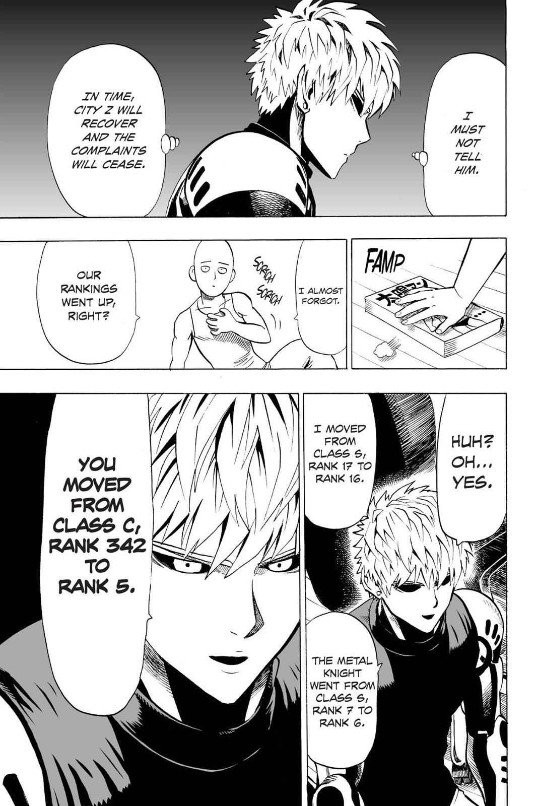One-Punch Man Chapter 22 Page 5