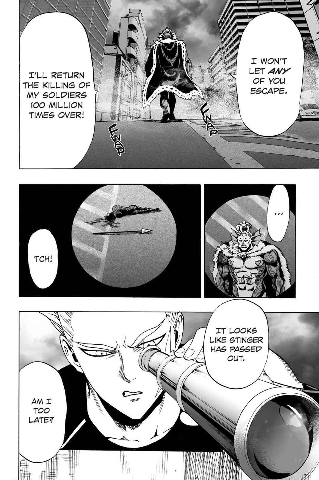 One-Punch Man Chapter 24 Page 4