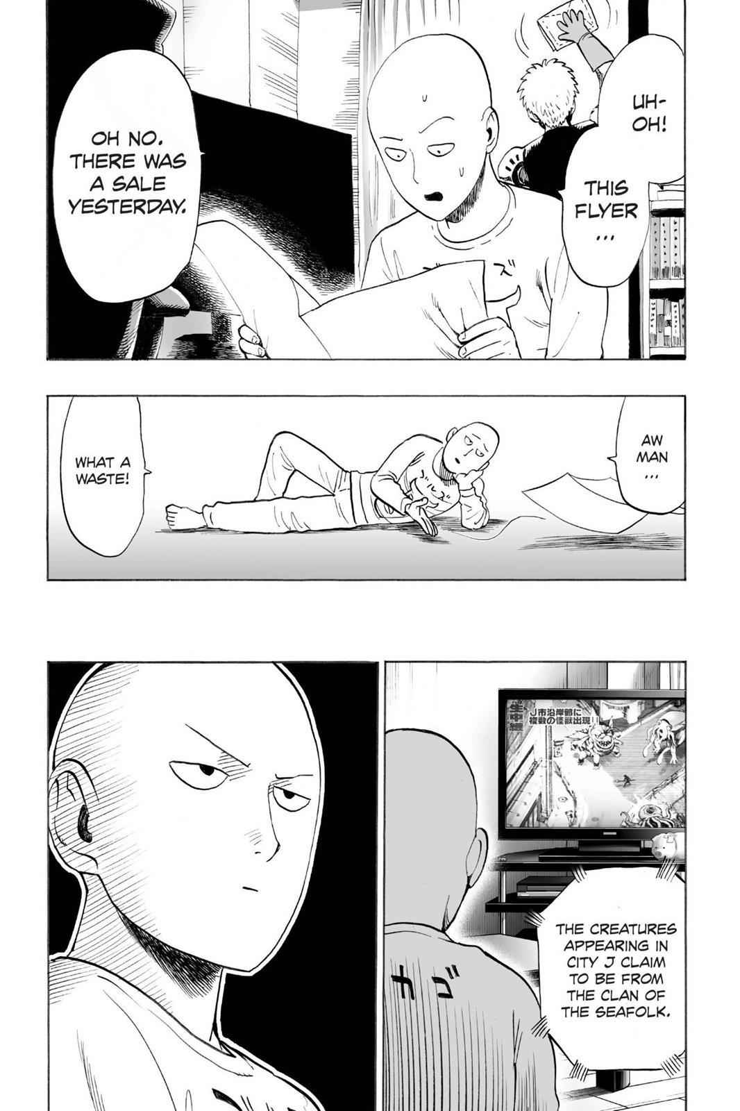 One-Punch Man Chapter 24.5 Page 1
