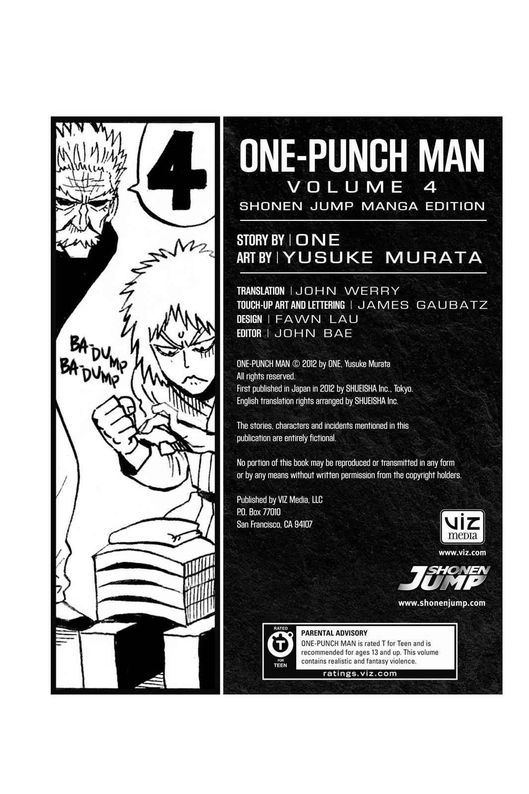 One-Punch Man Chapter 24.5 Page 5