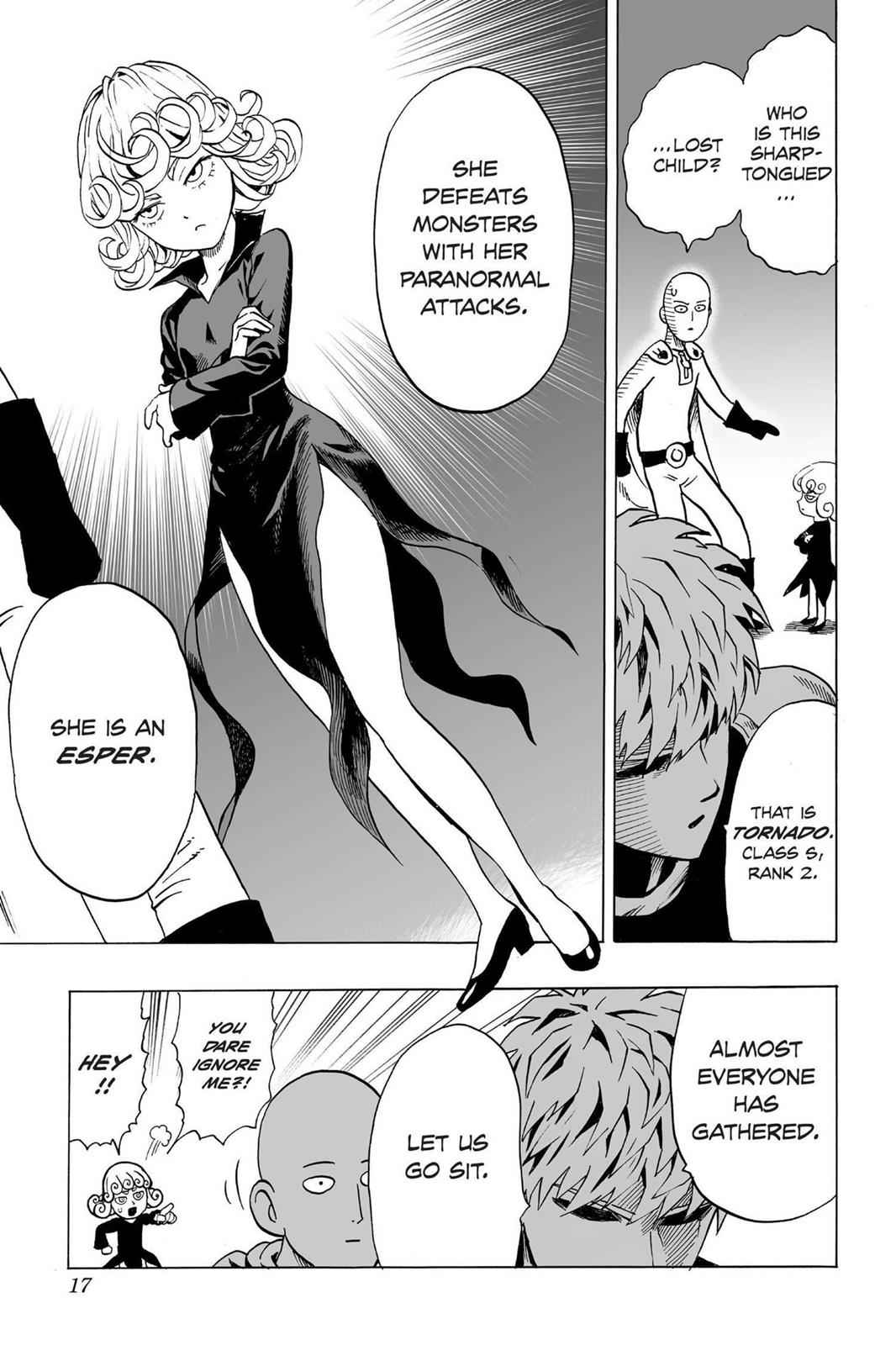 One-Punch Man Chapter 30 Page 18