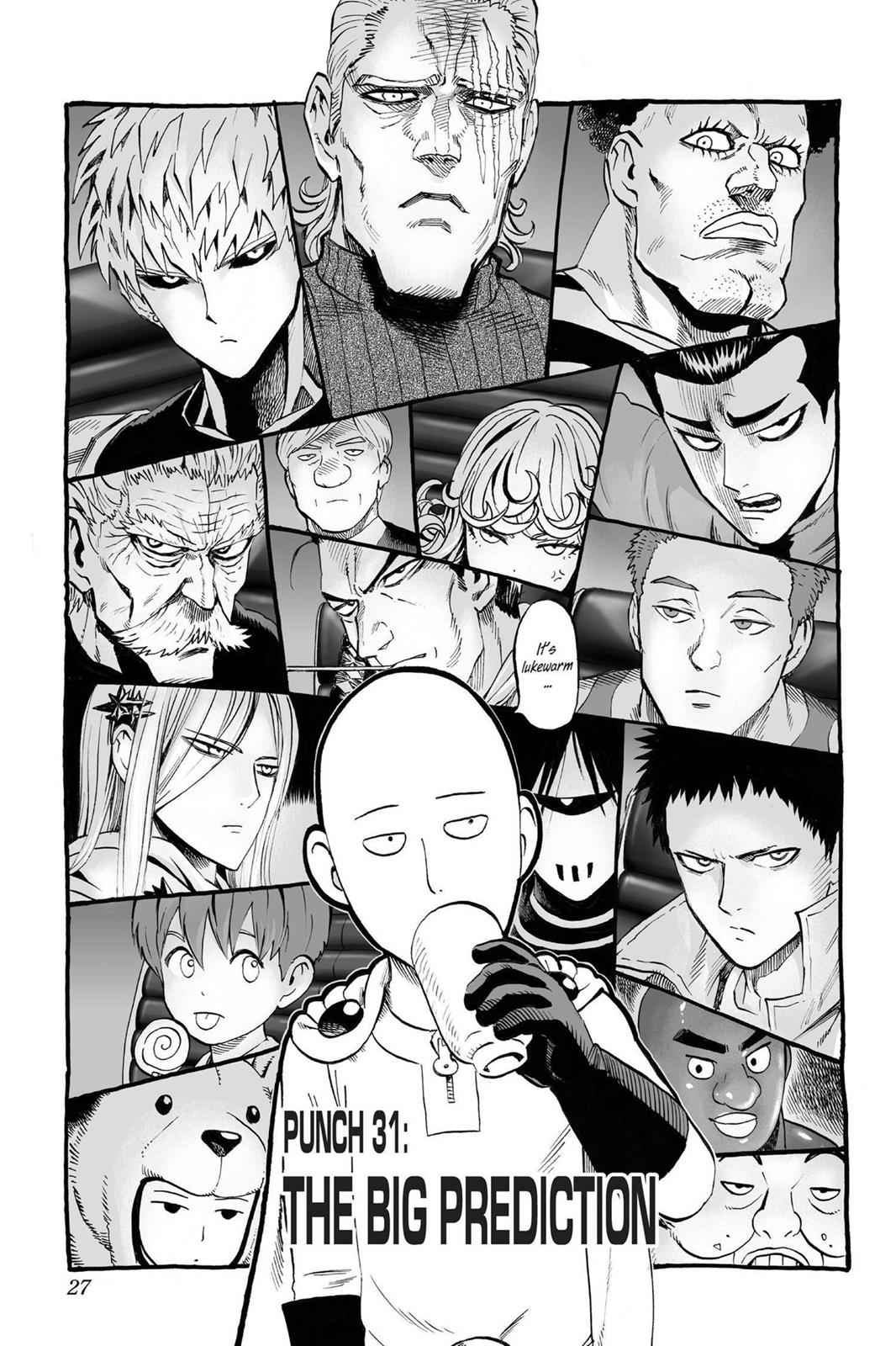One-Punch Man Chapter 31 Page 1