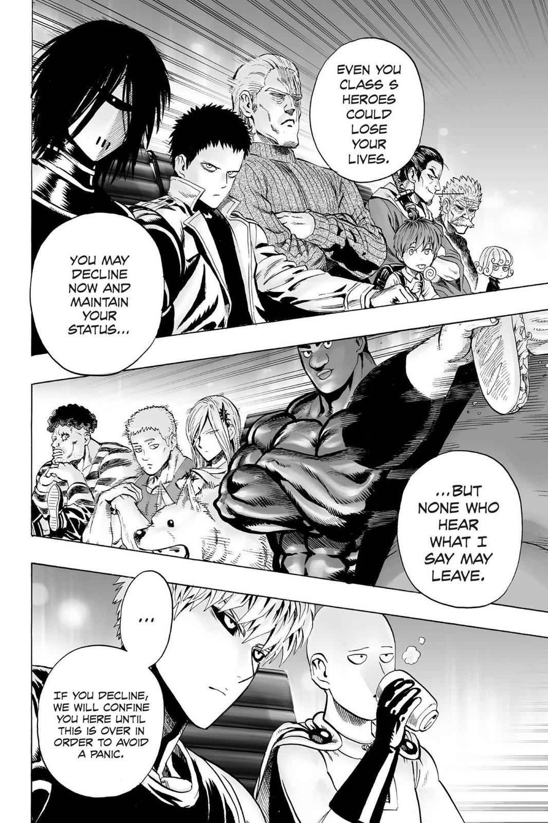 One-Punch Man Chapter 31 Page 4
