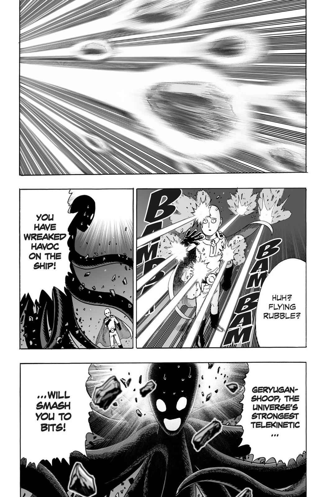 One-Punch Man Chapter 33 Page 28