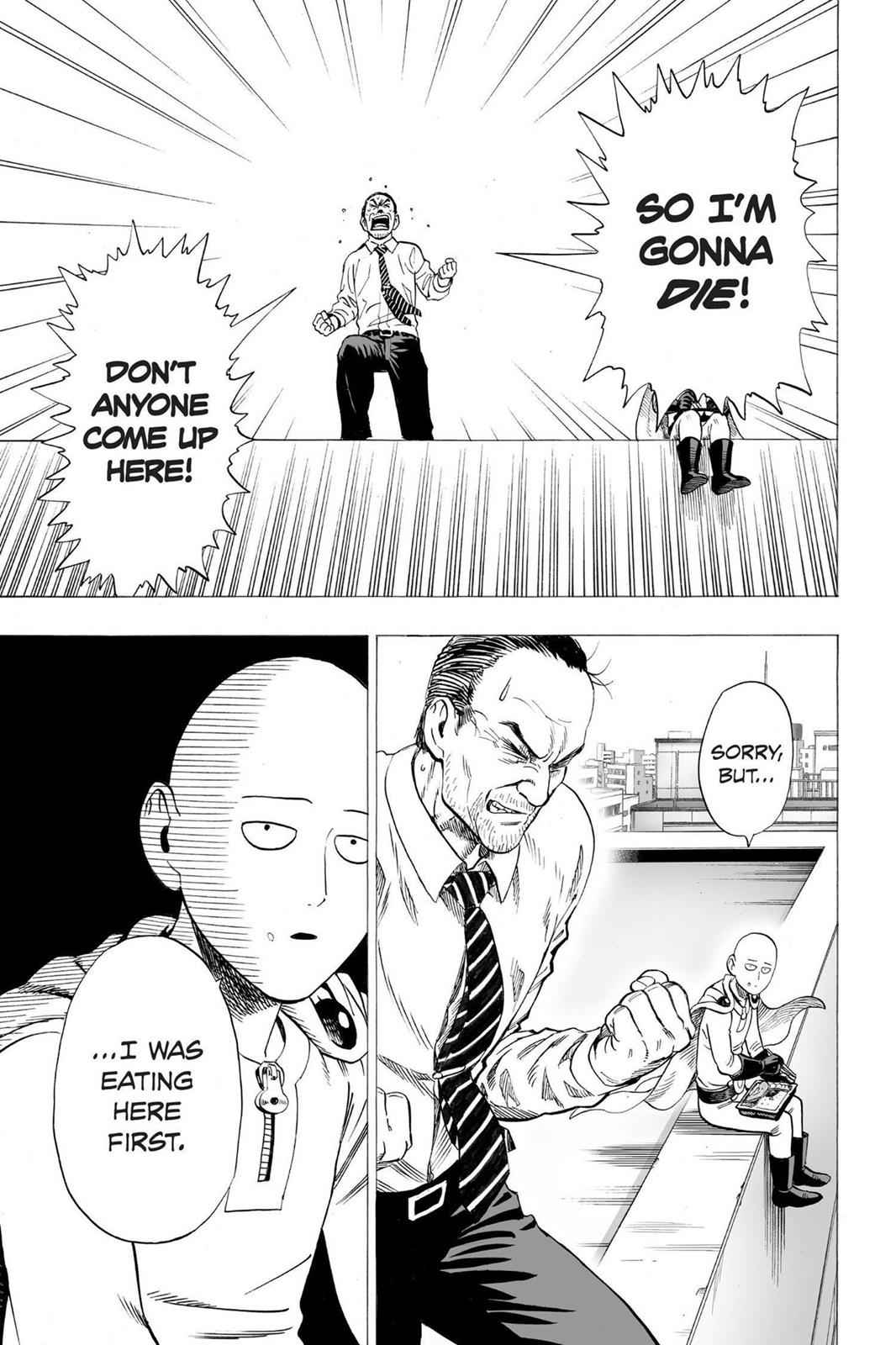 One-Punch Man Chapter 34.5 Page 3