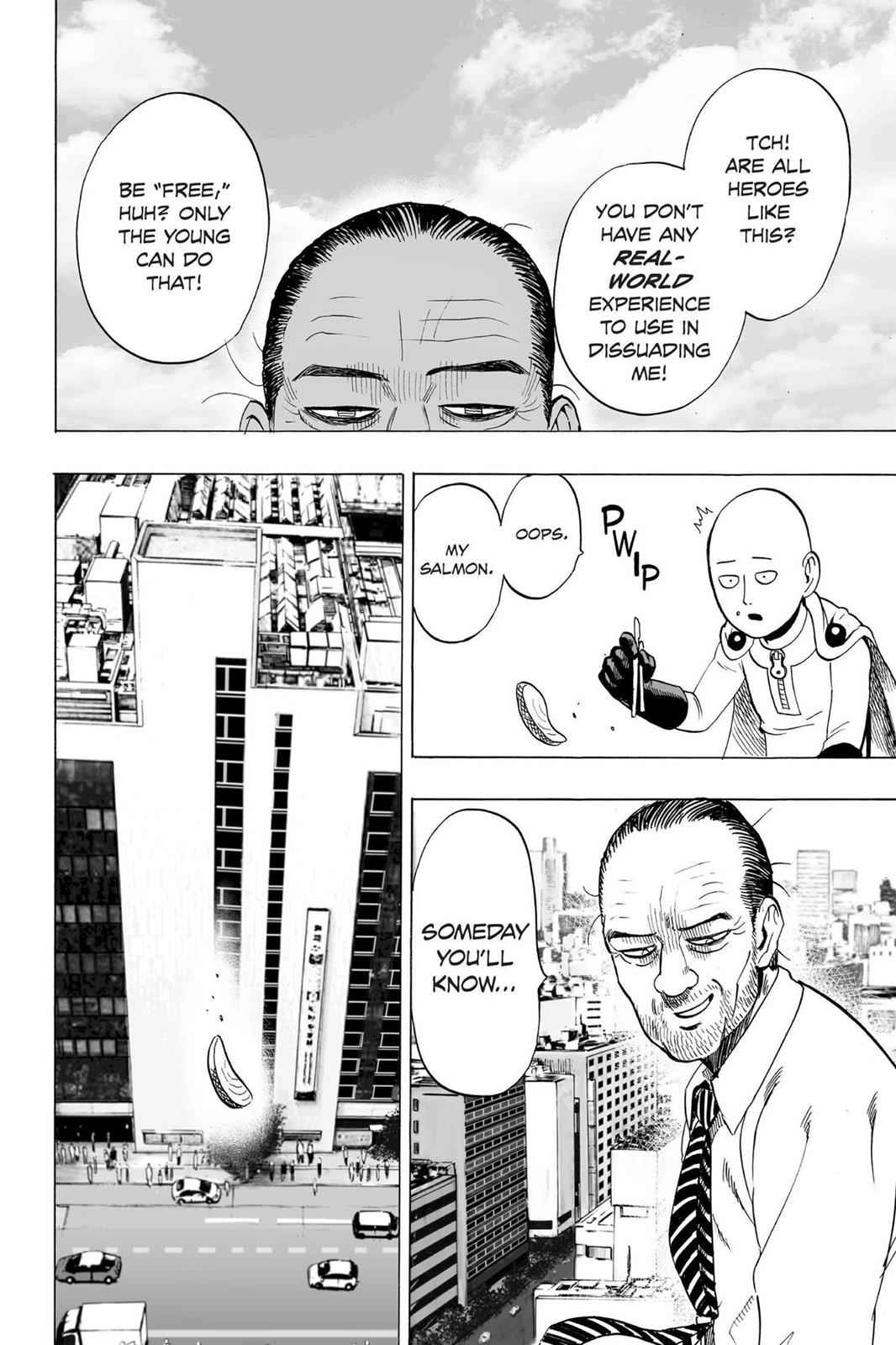 One-Punch Man Chapter 34.5 Page 8