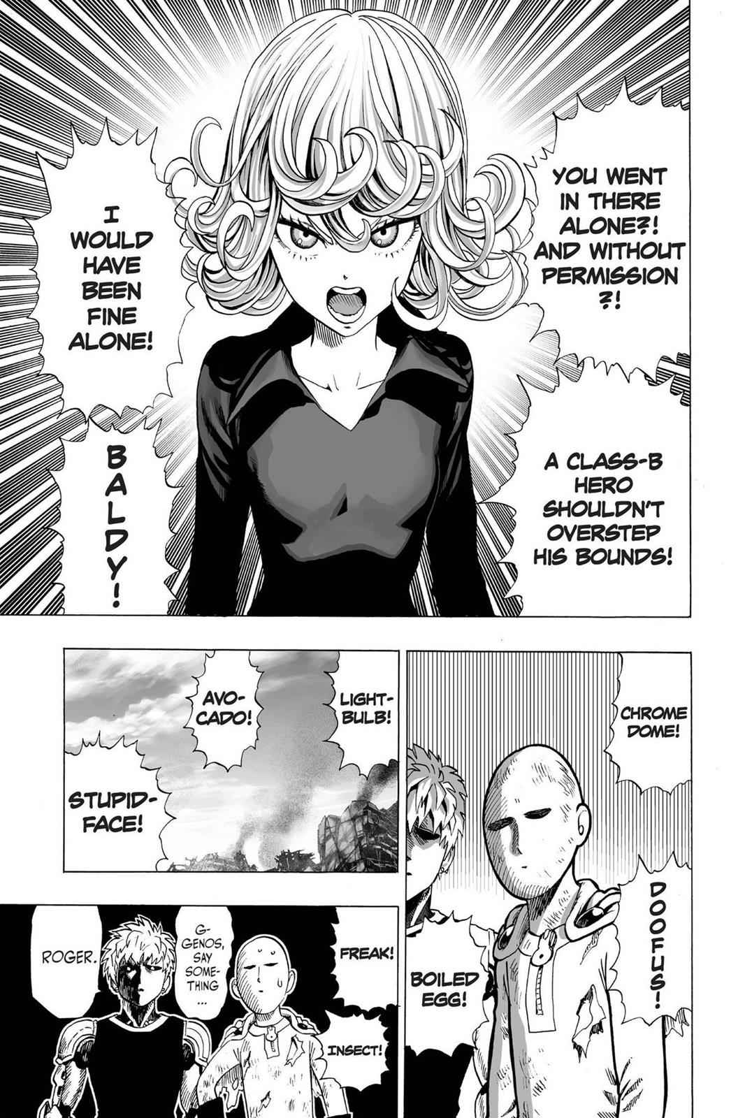One-Punch Man Chapter 37 Page 25