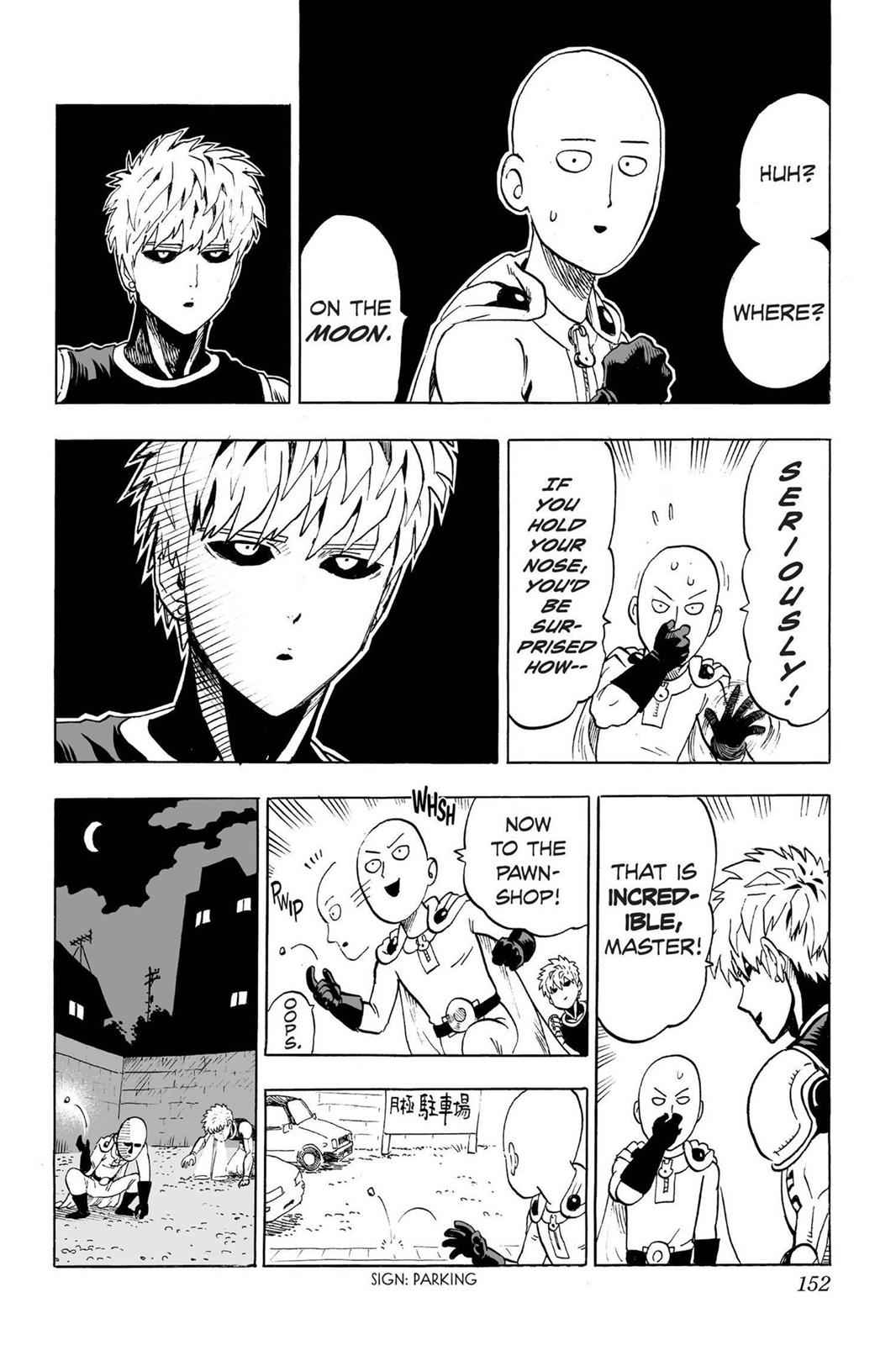 One-Punch Man Chapter 37.5 Page 2