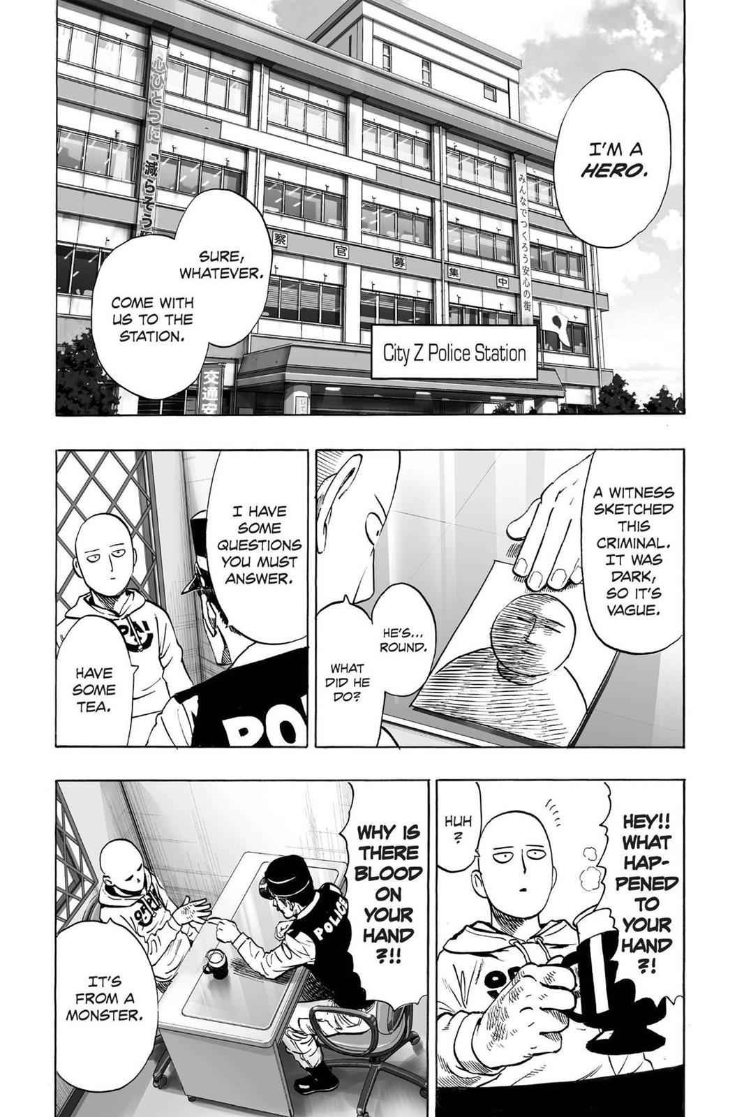 One-Punch Man Chapter 37.7 Page 2