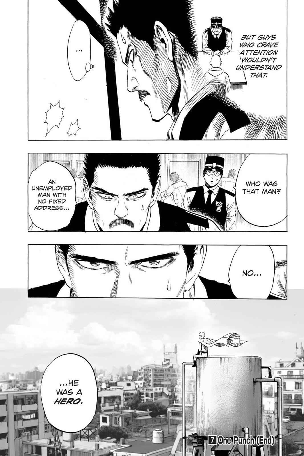 One-Punch Man Chapter 37.7 Page 27