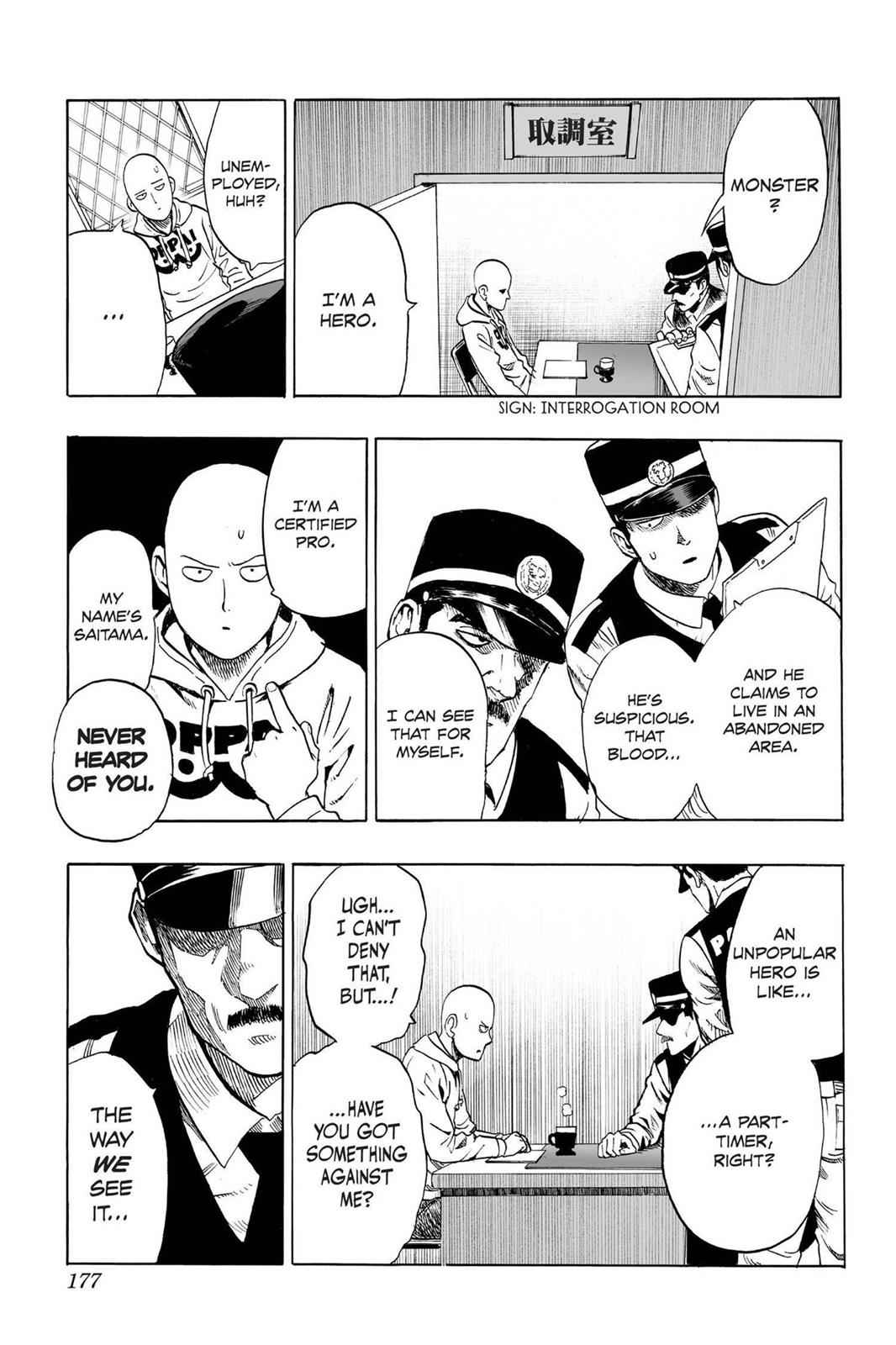 One-Punch Man Chapter 37.7 Page 3
