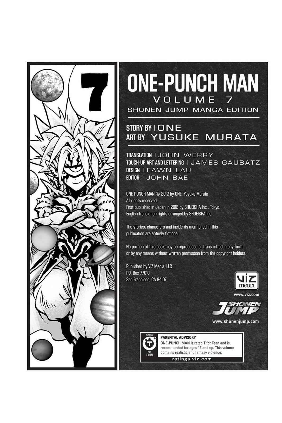 One-Punch Man Chapter 37.7 Page 34