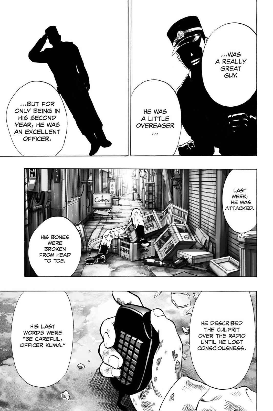 One-Punch Man Chapter 37.7 Page 7
